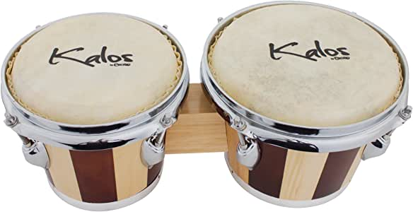 Kalos by Cecilio KP_BG78-NW 7 X 8 Inches Bongo Drum