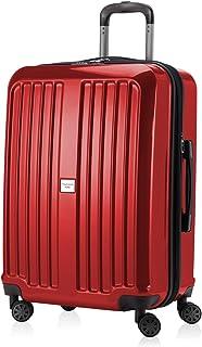 Hauptstadtkoffer X-Berg - 行李箱硬侧旋转手推车 4 轮可扩展 TSA,65 厘米,90 升,红色光面