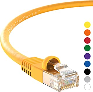 InstallerParts 以太网电缆 CAT6 电缆 UTP 引导专业系列 - 10千兆/秒网络/高速互联网电缆,550MHZ4437  5 Feet