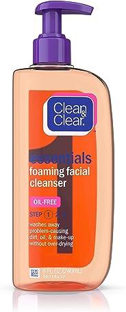 Clean & Clear Essentials Foaming Facial Cleanser, 8 Fl. Oz