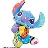 Enesco Disney Britto Lilo 和 Stitch 迷你雕像,3.54 英寸,多色