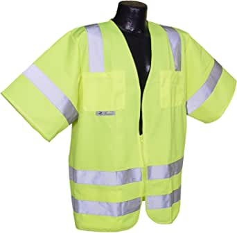 Radians Men's Class 3 Solid Safety Vest