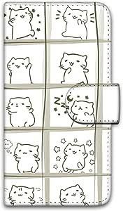 美丽猫 印花翻盖 圆滑图案 保护壳 翻盖式WN-LC1056803_LL 21_ Google Pixel 3 XL G013D 完全美观的B