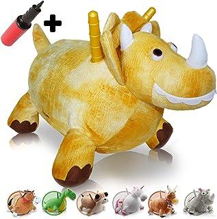 WALIKI Toys 弹跳马 Hopper Mr Jones (跳马,可充气骑行马,儿童骑行马 恐龙
