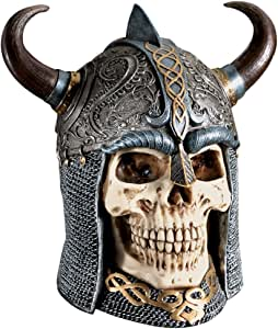 Design Toscano Daimer: The Celtic Skull Warrior Sculpture