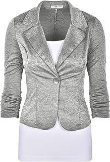 auliné 系列女式休闲工作纯色针织外套