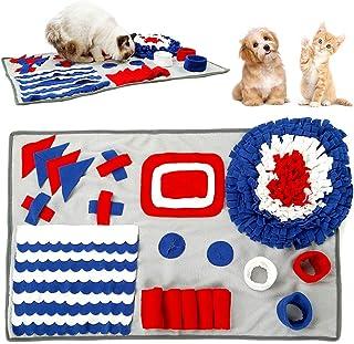 WIOR Snuffle Mat 适用于大号狗狗,狗狗 Snuffle Mat 互动拼图狗玩具鼓励天然觅食技巧