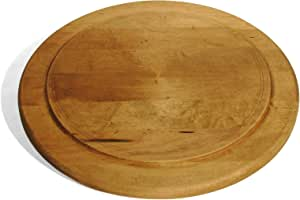 J.K. Adams 13-Inch Round Maple Wood Artisan Serving Platter