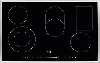 Beko HIC 85502 T Hob – 盘子(内置、电气、黑色,旋转,滚动条,56 厘米,49 厘米)
