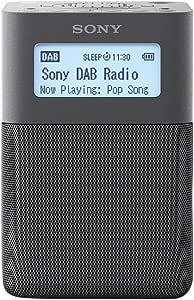 索尼 XDR-V20D 便携式DAB 数字收音机,优质立体声和小足迹设计XDRV20DH.CEK