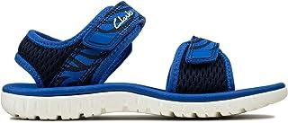 Clarks Surfing Tide K 儿童露跟凉鞋