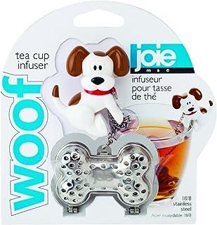 Harold Import Company Joie Woof 茶壶,狗和骨头,银色 银色 10051