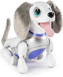zoomer Playful Pup, Responsive Robotic Dog 带语音识别和逼真的动作,适合 5 岁及以上儿童