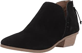 Kenneth Cole REACTION 女士侧向低跟及踝短靴 黑色 7 M US