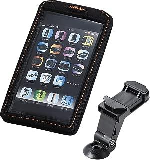 IBERA(IBERA) 智能手机支架 手机保护壳 [Phone case] 智能手机包 5-6.3英寸对应尺寸 带支架安装用夹子 50g EVA H168xW90xD14mm IB-PB17-Q5