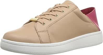 Calvin Klein 女式 danica 运动鞋 沙漠色 5
