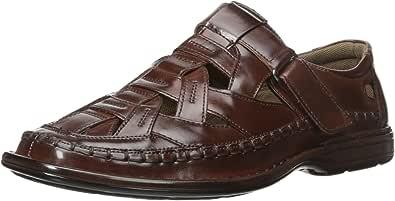 Stacy Adams 男士 Biscayne 渔夫凉鞋 棕色 9.5 M US