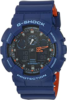 Casio Men GA-100LGA-100L-2ACR analog-digital 树脂 多色 GA-100L-2ACR sport-watches