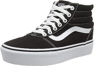 Vans 范斯 女士 Ward Hi Platform 高帮运动鞋 黑色