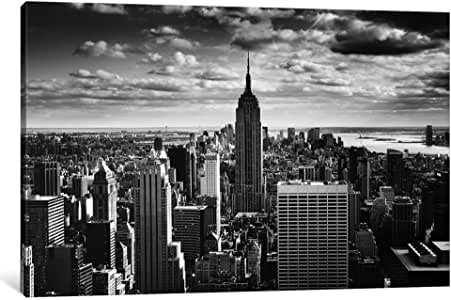 iCanvasART 11649-1PC3-26x18 NYC Downtown Canvas Print by Nina Papiorek, 0.75 x 26 x 18-Inch