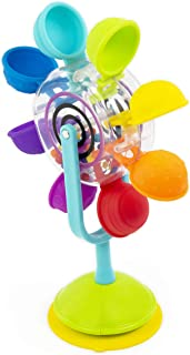 Sassy Whirling 瀑布吸盘 STEM 玩具,享受洗澡乐趣和学习