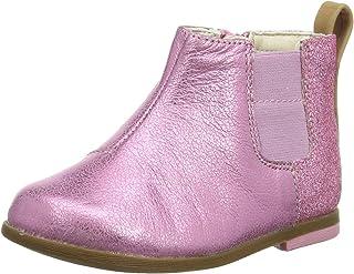 Clarks Drew Fun T 女童版切尔西靴