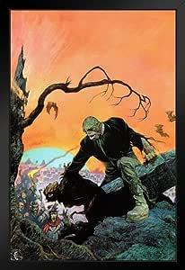 来自 Frank Frazetta 的海报 Foundry Beyond The Grave 作品 ProFrames 创作 裱框海报 14x20 inches 220329