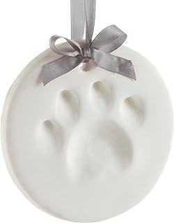 Pearhead 宠物爪印狗或猫爪印纪念品装饰品圆形
