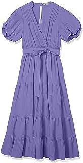Snidel 棉材质围裹式连衣裙 女士 SWFO201005