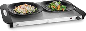 Lacor 69445 Foodwarmer 套装,不锈钢