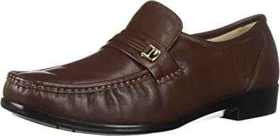 Joseph Allen Anthony 男士乐福鞋,棕色,10.5 宽 US