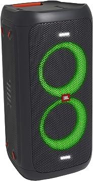 JBL PARTYBOX100 蓝牙音箱 无线 麦克风输入/吉他音箱输入 黑色 JBLPARTYBOX100JN【日本正品】
