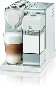 De'Longhi Nespresso 德龙雀巢 Lattissima Touch | EN 560.W 带牛奶系统的胶囊咖啡机| 中止功能:咖啡和奶量可设置| 20 bar泵压| 银白色 能量级别 A