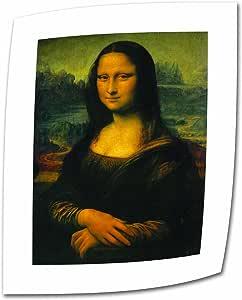 Art Wall Mona Lisa by Leonardo Da Vinci Rolled Canvas Art, 18 by 24-Inch