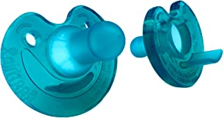 Philips Respironics 新生兒Soothie奶嘴,綠色,0-3個月,自然氣味(2支裝)