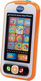 Vtech 觸摸和可滑動嬰兒手機,橙色