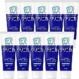 Clinica 牙膏 新鲜薄荷味道 直立式 130g×10个套装