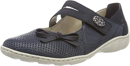 Rieker 女式 m3754芭蕾平底鞋