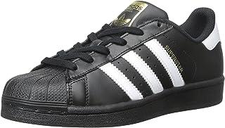 adidas 阿迪达斯 Originals Superstar 中性款 儿童运动鞋 Schwarz Wei? Schwarz 22.5 EU