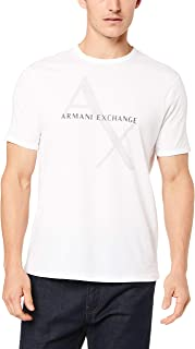 A√X Armani Exchange 男式经典棉标志 T 恤