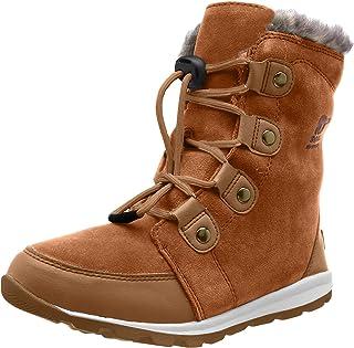 Sorel 儿童青少年Whitney 麂皮靴