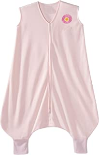 HALO Early Walker SleepSack 轻质针织可穿戴毛毯 粉红色 Xlarge
