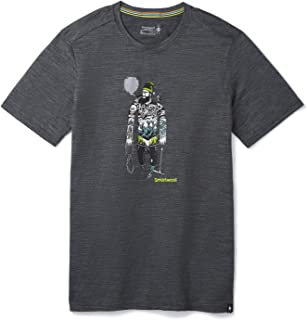 Smartwool 男式美利奴运动 150 幽灵游戏图案 T 恤