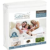 saferest PREMIUM hypoallergenic 防水床垫保护罩–乙烯基, PVC and phthalate FREE