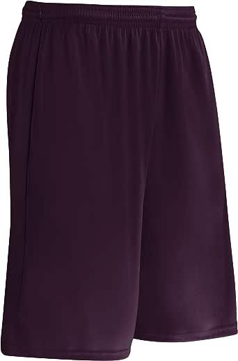 CHAMPRO 手拿包 Z-Cloth Dri Gear 涤纶短裤,女式 XS 码,栗色