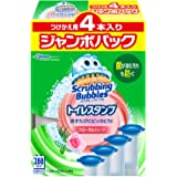 Scrubbing Bubbles 廁所清潔劑 花草味道 替換裝 38g×4個 大型