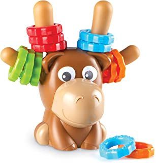 Learning Resources Max The Fine Motor Moose,幼儿精细运动玩具,18个月以上