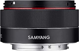 Samyang 8022 AF 35 mm f2.8 相机镜头适用于 Sony FE - 黑色