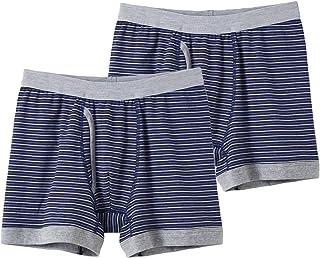 [郡是] 四角內褲 椰子麻 前開口 2件裝