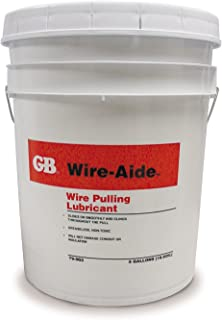 Gardner Bender 聚凝胶电缆拉动润滑剂,28° - 200°F,干洗透明,导管和光纤电缆绝缘 蓝色 79-203